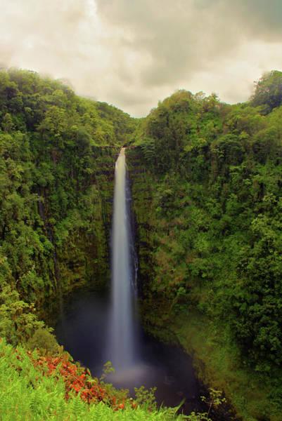 Big Island Photograph - Akaka Falls - Hawaii by Photo By Mike Kline (notkalvin)