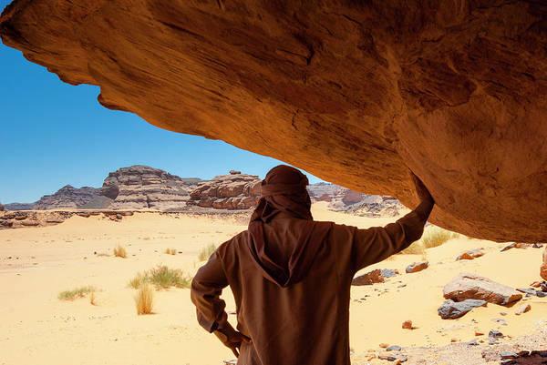 Hip Photograph - Akakus, Sahara Desert, Fezzan, Libya by Nico Tondini