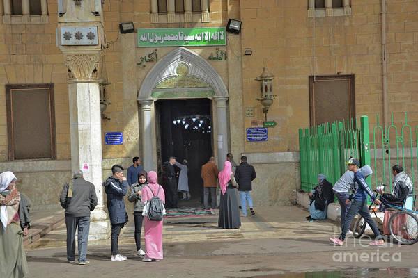 Wall Art - Photograph - Al-emam Al-hussain Mosque by Andrea Simon