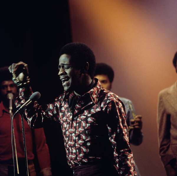 Al Green Performs On Tv Show Art Print