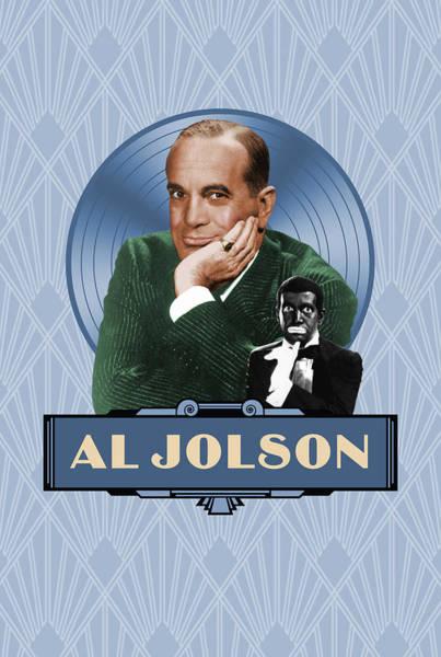 Wall Art - Digital Art - Al Jolson - The Good Old Days by David Richardson