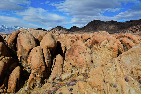 Photograph - Alabama Hills Eastern Sierra by Kyle Hanson