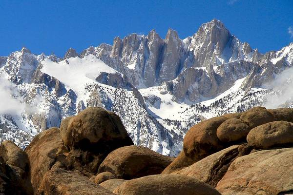Photograph - Alabama Hills by Ed  Riche