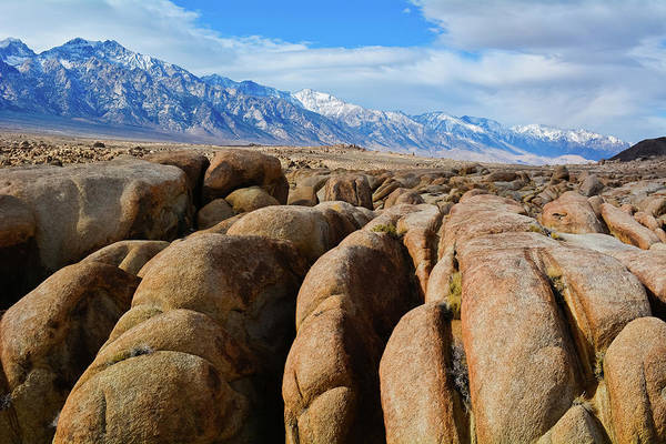 Photograph - Alabama Hills National Scenic Area by Kyle Hanson