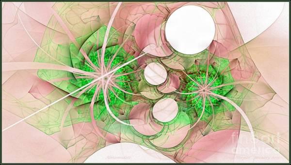 Digital Art - Alamandate Lime by Doug Morgan