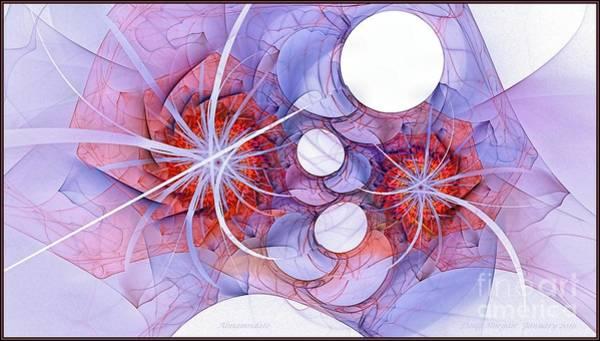 Digital Art - Alamandate Rose by Doug Morgan