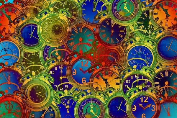 Wall Art - Digital Art - Alarm Clock by ArtMarketJapan
