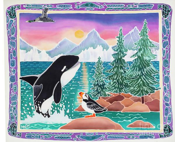 Loon Painting - Alaska Wild by Harriet Peck Taylor