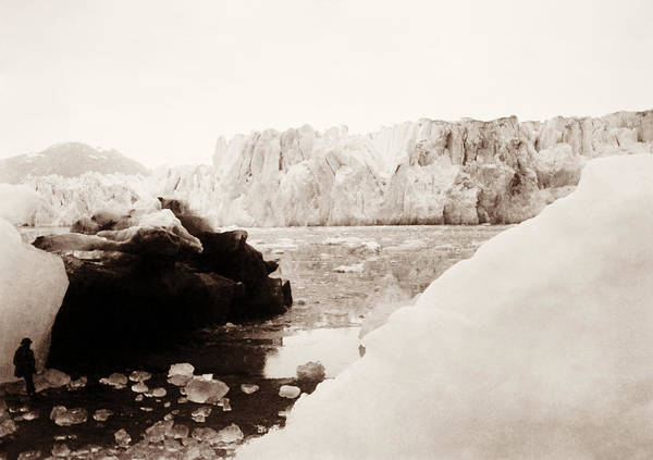 Wall Art - Photograph - Alaskan Glaciers - Harriman Expedition - 1899 by War Is Hell Store