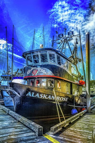 Wall Art - Photograph - Alaskan Rose by Maria Coulson