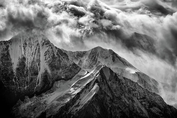 Photograph - Alaskan Splendor In Black And White by Rick Berk