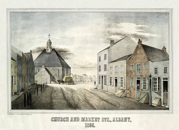 Photograph - Albany 1805 by Andrew Fare