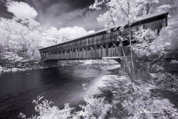 Photograph - Albany Covered Bridge 7640 by Dan Beauvais