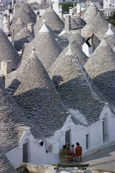 House Photograph - Alberobello by Slim Aarons