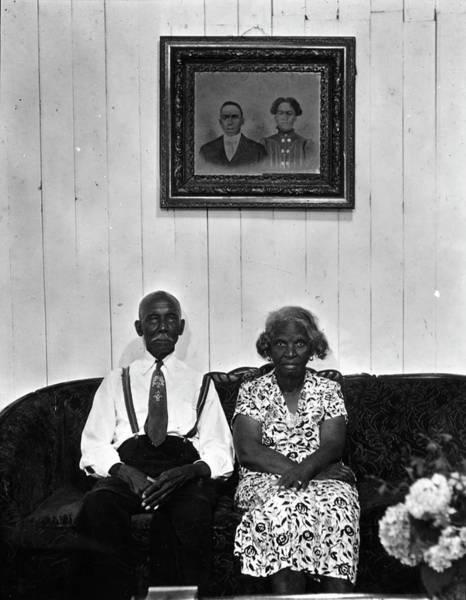 Wife Photograph - Albert Thornton & Wife by Gordon Parks