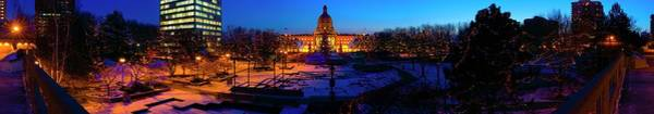 Wall Art - Photograph - Alberta Legislature, Edmonton, Alberta by Design Pics