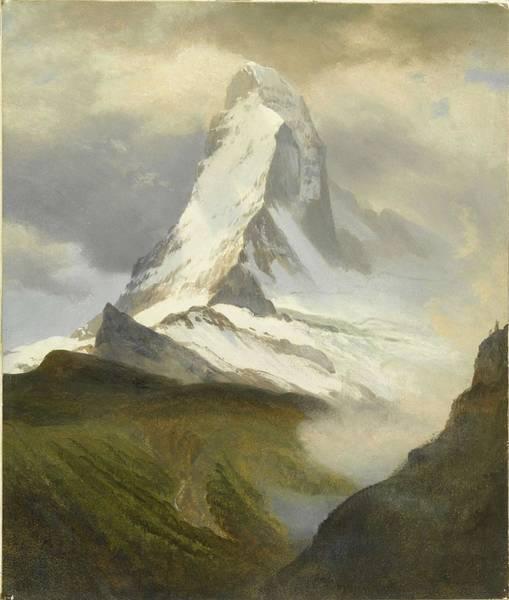 Wall Art - Painting - Albert_bierstadt_-_matterhorn_02 by Albert Bierstadt