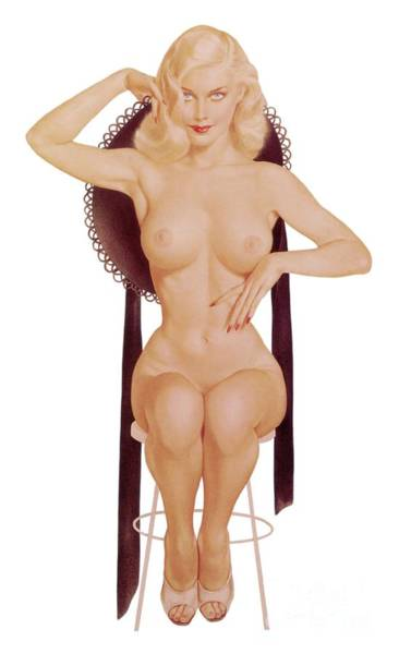 Wall Art - Painting - Alberto Vargas Pin Up Art by Esoterica Art Agency