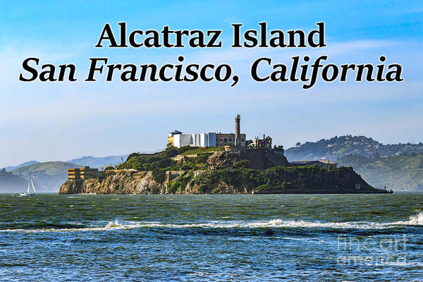 Photograph - Alcatraz Island, San Francisco, California by G Matthew Laughton