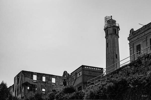 Photograph - Alcatraz Iv Bw by David Gordon