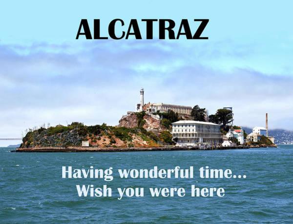 Wall Art - Digital Art - Alcatraz by Long Shot