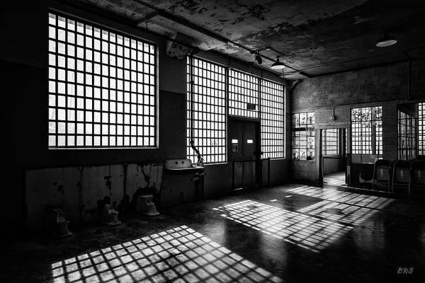 Photograph - Alcatraz V Bw by David Gordon