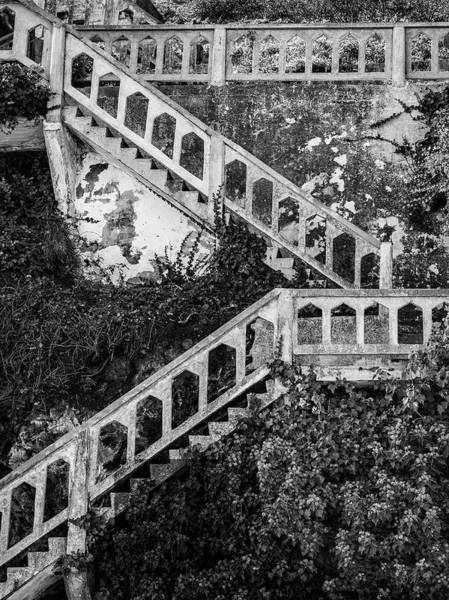 Photograph - Alcatraz Vi Bw by David Gordon