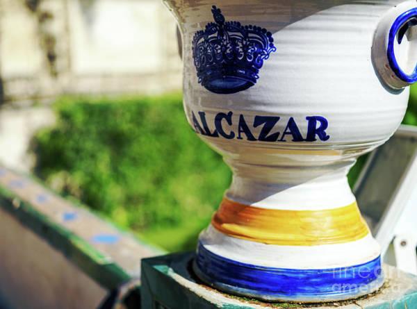 Photograph - Alcazar In Seville by John Rizzuto