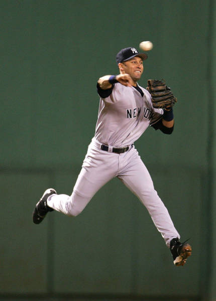 Photograph - Alcs Yankees V Red Sox Game 5 by Al Bello