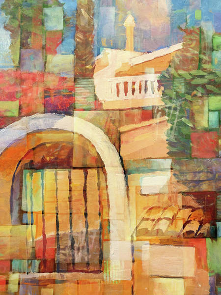 Wall Art - Painting - Aldea Puerta Spain by Lutz Baar