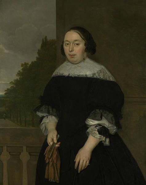 Painting - Aletta Van Ravensberg by Ludolf Leendertsz de Jongh