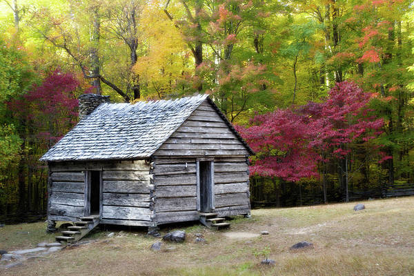 Wall Art - Photograph - Alex Cole Cabin by Lana Trussell