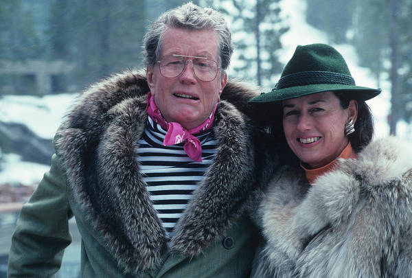 1961 Photograph - Alex Cushing And Wife by Slim Aarons