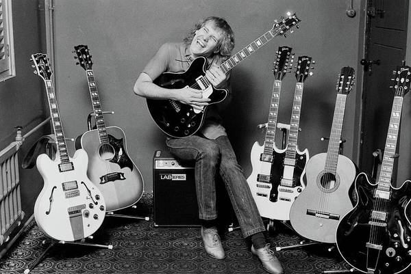 Wall Art - Photograph - Alex Lifeson by Fin Costello