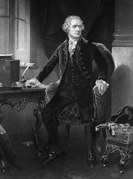 18th Century Digital Art - Alexander Hamilton by Hulton Archive