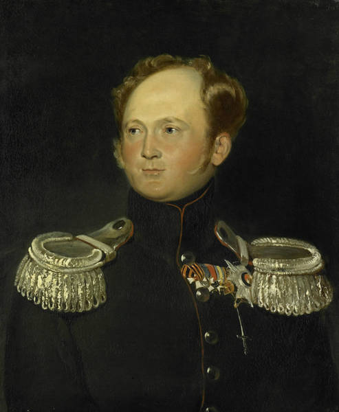 Painting - Alexander I Of Russia by Carl Gustaf Hjalmar Morner