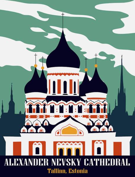 Wall Art - Digital Art - Alexander Nevsky Cathedral by Long Shot