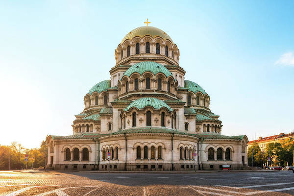 Photograph - Alexander Nevsky Cathedral - Sofia, Bulgaria by Nico Trinkhaus
