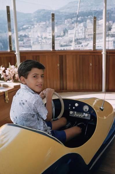 Luxury Yacht Photograph - Alexander Onassis by Slim Aarons