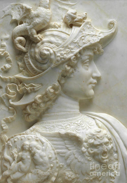Wall Art - Relief - Alexander The Great by Andrea del Verrocchio