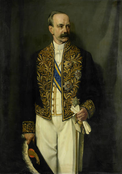 Painting - Alexander Willem Frederik Idenburg by Jan Franken
