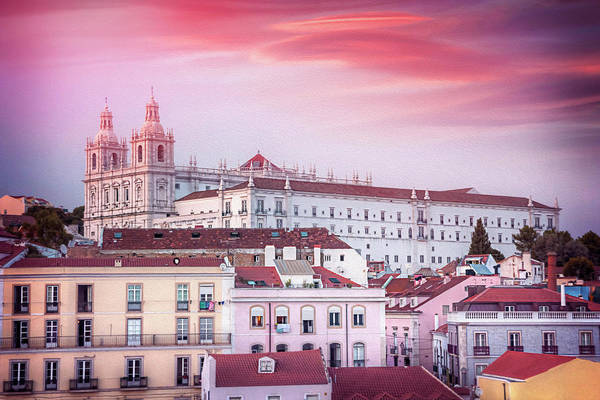 Wall Art - Photograph - Alfama Rooftops Lisbon Portugal  by Carol Japp