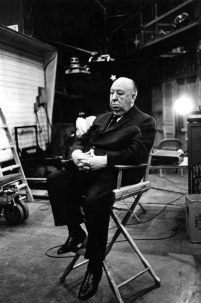 Photograph - Alfred Hitchcock by Harry Benson