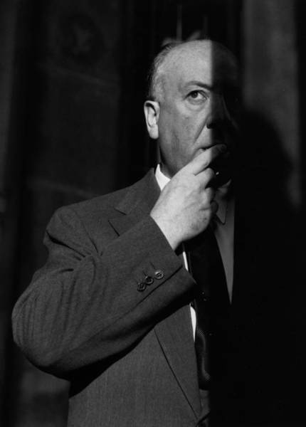 Photograph - Alfred Hitchcock by Thurston Hopkins