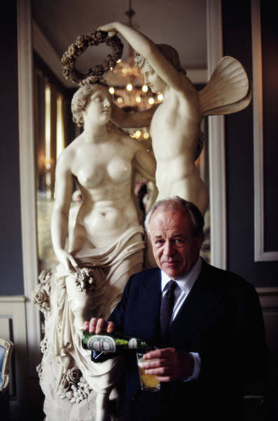 Glass Photograph - Alfredo Heineken by Slim Aarons