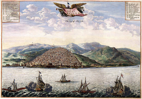 Photograph - Algiers 1680 by Andrew Fare