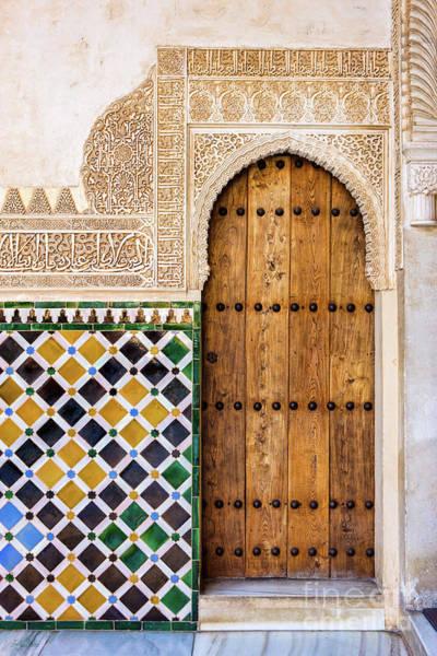 Wall Art - Photograph - Alhambra Door  by Juan Carlos Ballesteros