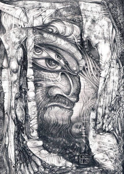 Drawing - Ali Baba by Otto Rapp
