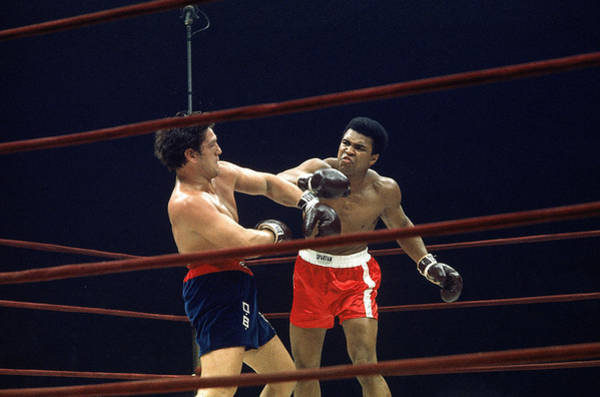 Boxing Photograph - Ali Vs. Bonavena, 1970 by Bill Ray