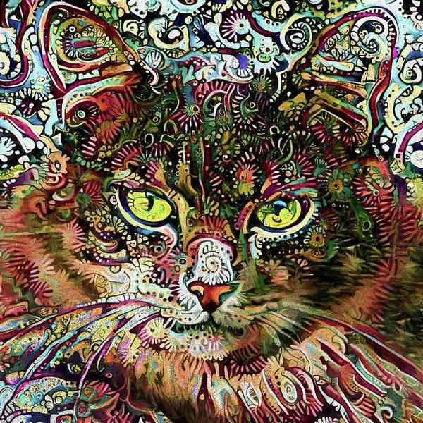 Digital Art - Alice In Wonderland by Peggy Collins